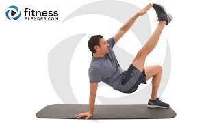 10 Minute Abs Workout - At Home Abs Workout with No Equipment