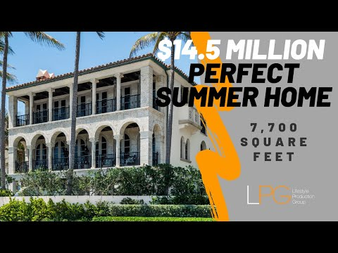 Perfect Summer Home In Palm Beach Florida - 14.5 MILLION