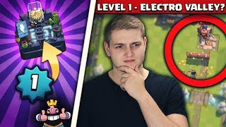 LEVEL 1 ROAD TO ELECTRO VALLEY! | Schaffe ich die 3400 Trophäen mit L