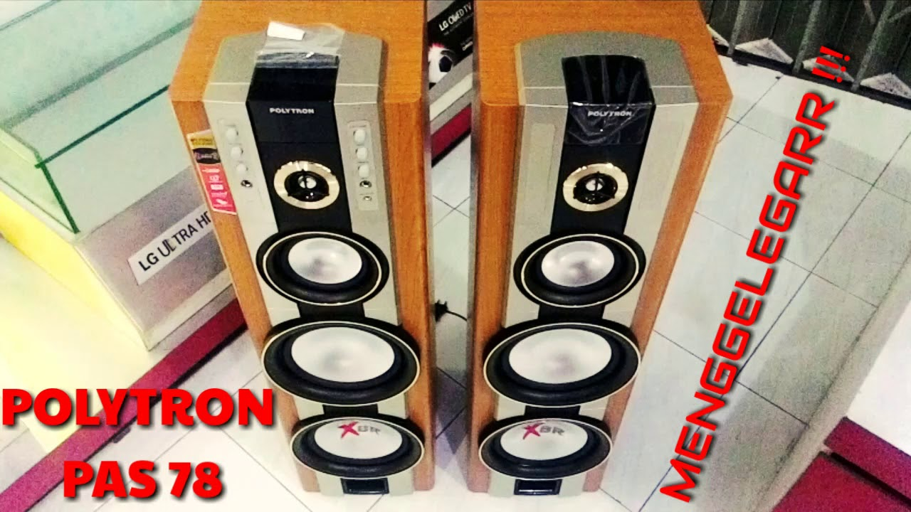 Review NEW Polytron PAS 78 Speaker Aktif Bass Menggelegar