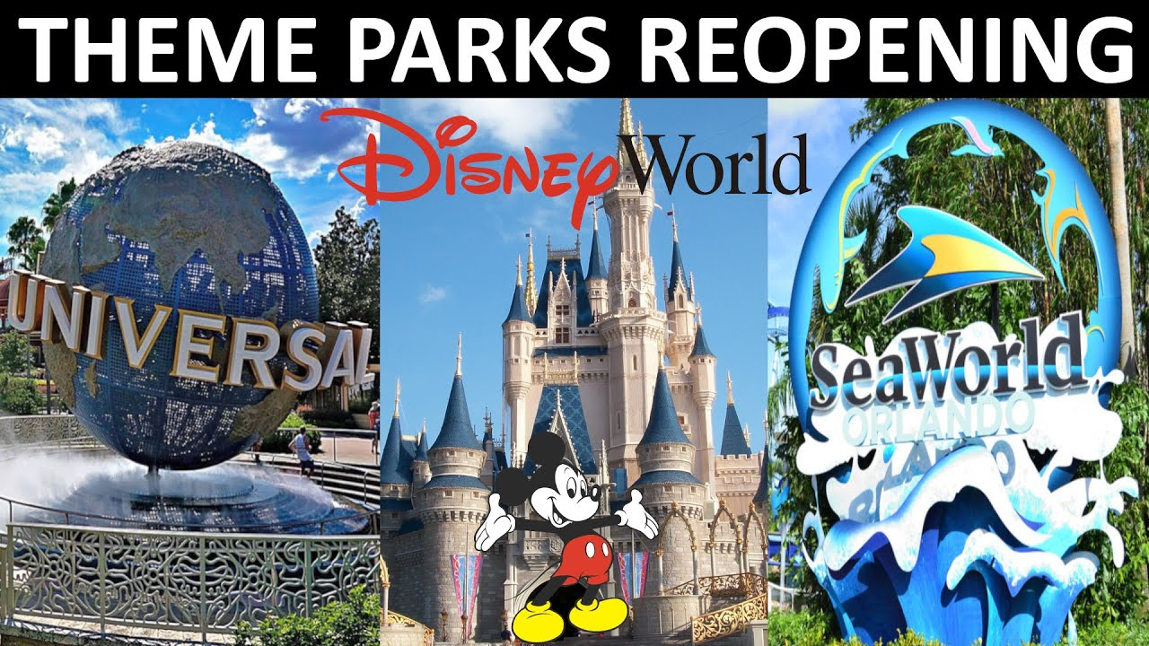 Disney World And Other Florida Theme Parks Outline Reopening ...