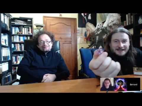 Live-Lesung mit Robert Corvus und Bernhard Hennen