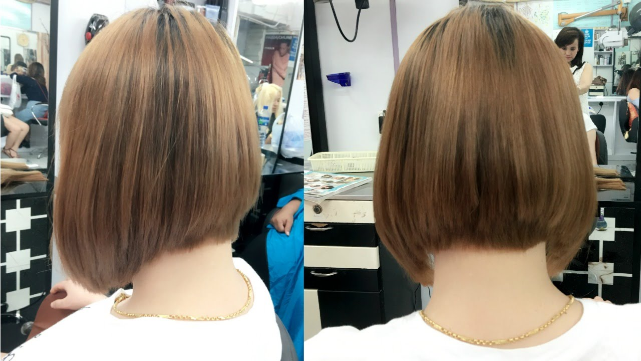 how to cut hair bob style how to cut bob hair cut image salon 4199 | maxresdefault