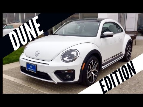 2018 VW Beetle 2.0T Dune Edition Pure White