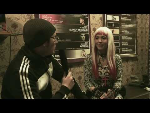Frontside Records TV: Marika Rossa live @ Kiezinternat Hamburg // Full-HD Interview #1