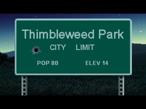 Cry Tries: Thimbleweed Park