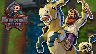 FEEDING THEM HUMAN MEAT?! | Graveyard Keeper Gameplay Let's Play #1