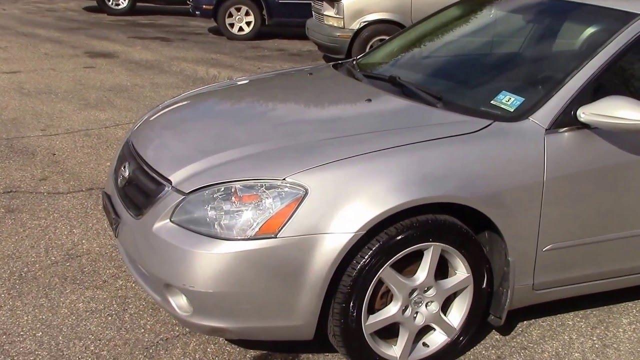 2003 Nissan Altima SE Silver For Sale