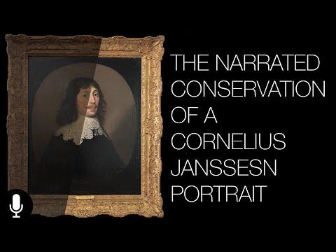 The Conservation of a Cornelius Janssens Portrait - Narrated