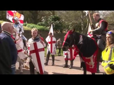 St George's Day - Nottingham 2016 - Resistance 77