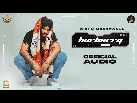 Burberry (Official Audio) Sidhu Moose Wala | Moosetape