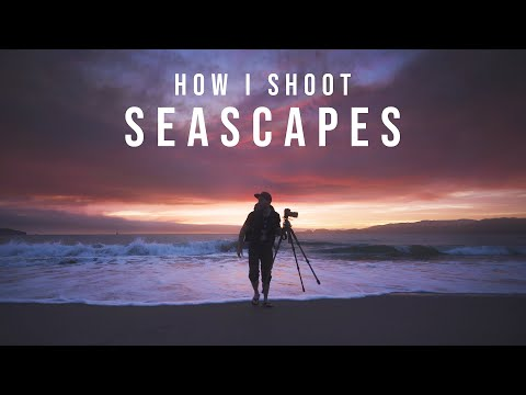 Wide Angle SEASCAPES and Stunning Sunset Colors | Landscape Photography