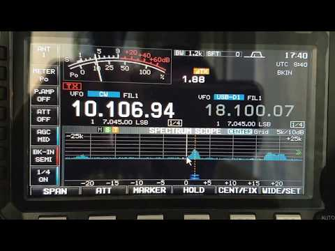 CN2FR, Morocco AFRICA, 10MHz, CW, Worked by HL2WA