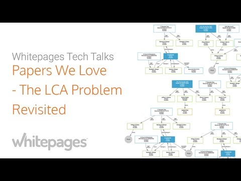 Papers We Love at Whitepages: The LCA Problem Revisited