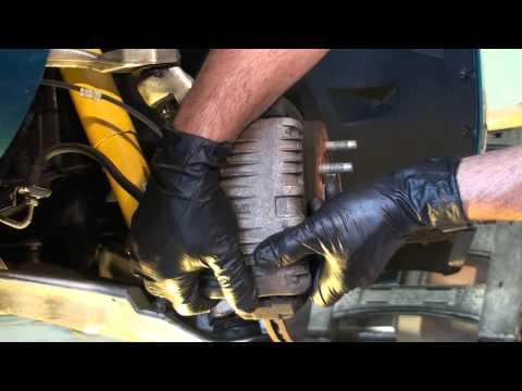 Corvette C4 Front Brakes **PART 1** - Easy fix!
