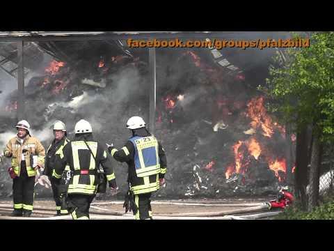 Aktuelle News - Scheunenbrand in der Gemarkung Böbingen / Geinsheim
