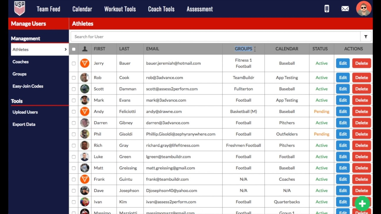 How to Manage Multi Sport Athletes in TeamBuildr