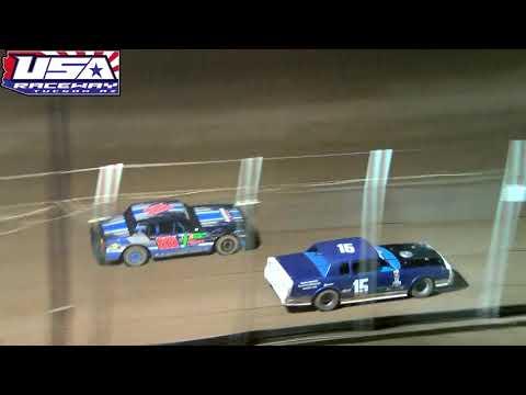 USA Raceway - ASCS Night - IMCA Stock Car Heat Race Apr 27 2019