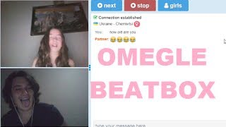 Omegle Beatbox (Yabancı Kızlardan Instagram Almak ve Komik Beatbox Tepkileri)