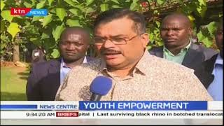 Kesses MP Dr Swarup Mishra roll out a Kshs.65 youth training programme