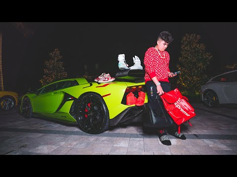 14 Year Old Billionaire Shows Off $20,000,000 Sneaker And Car Collection