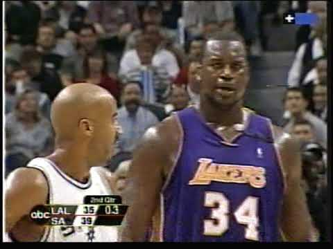 48887315a NBA Playoffs 2003  Lakers vs. Spurs (game 4) - YouTube