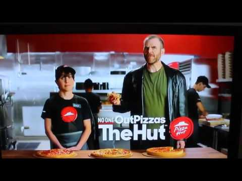 Pizza Hut Illuminati Commercial - The Moon Landing Hoax & Flat Earth Reference