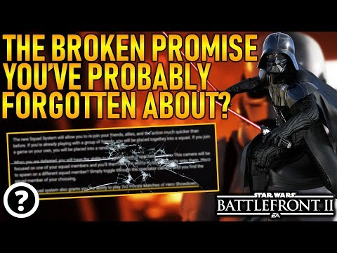 THE BROKEN PROMISE YOU'VE PROBABLY FORGOTTEN ABOUT? Star Wars Battlefront 2 thumbnail