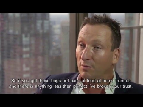 The Fresh Direct concept explained by David McInerney (1/3)
