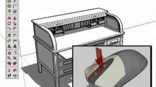Google SketchUp Часть 1. Концепции 3-08.MP4