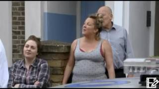 EastEnders 16th June 2017 Karen Taylor is arrested for attacking Sharon and Keegan for rape