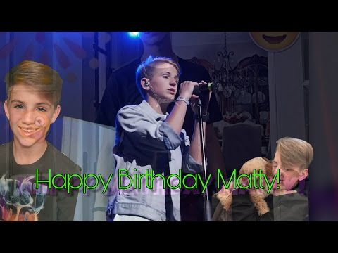 Happy 14th Birthday MattyB!