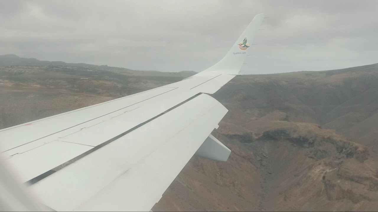 Landing at St.Helena airport HLE   YouTube