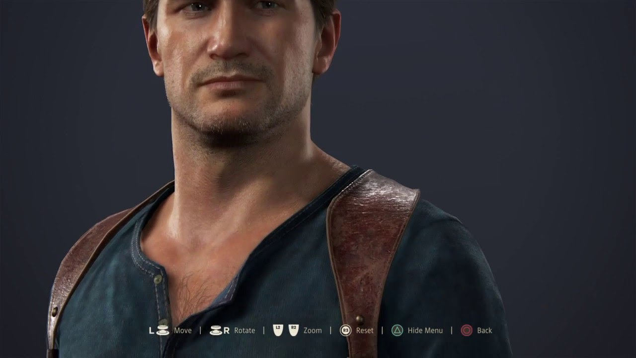 Uncharted 4 A Thief S End Nathan Drake Character Model