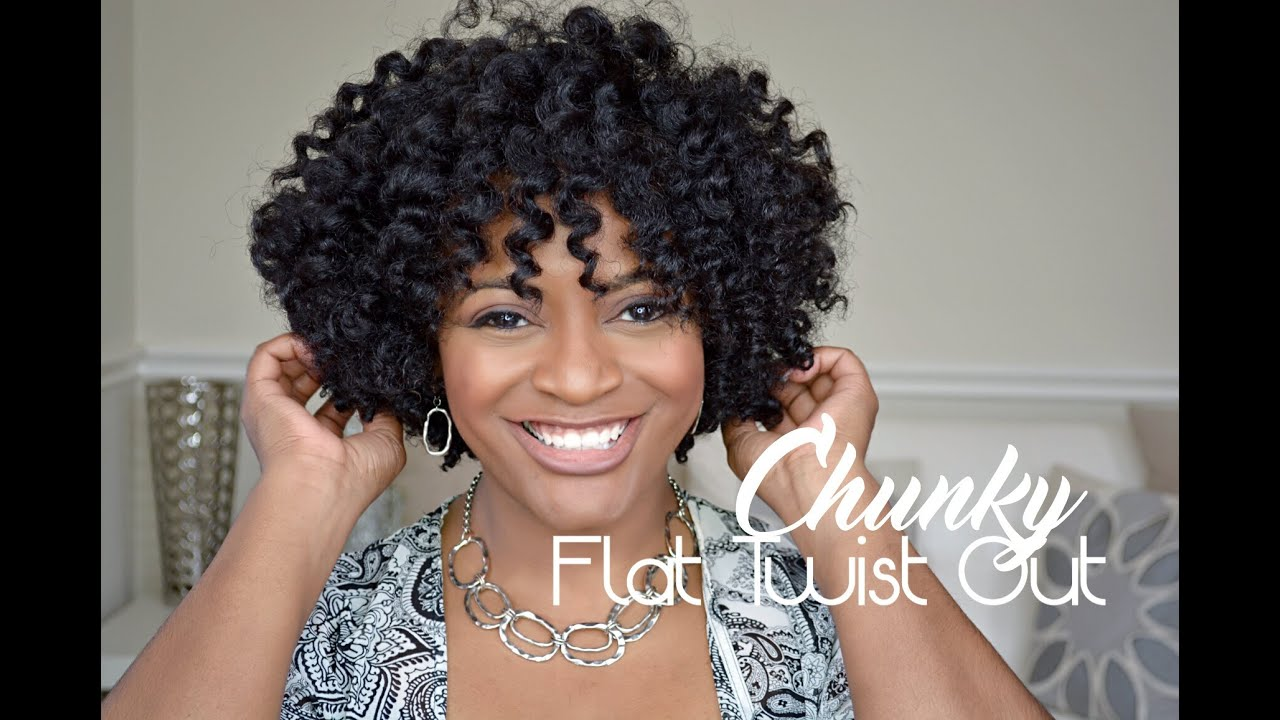 Flat Twist Out And A Regular Twist Out Learn Step By Step Direction