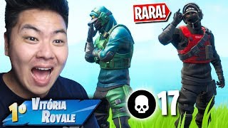 I WON THE NEW RARE SKIN OF NVIDIA!! * Epic Gift * | FORTNITE