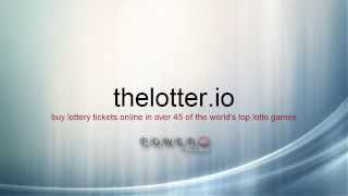 Buy Powerball tickets online through thelotter.io