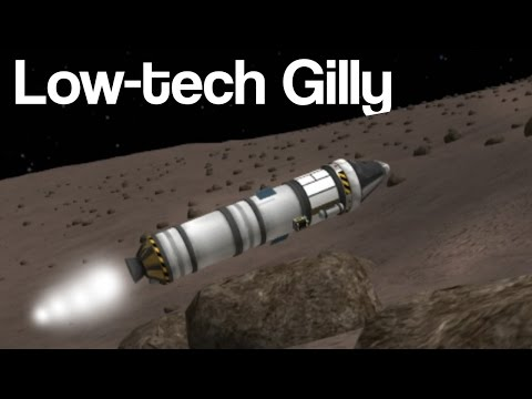 KSP: Low tech to Gilly!
