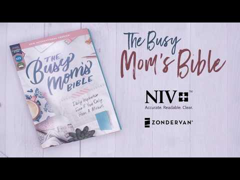 NIV Busy Mom's Bible By Zondervan