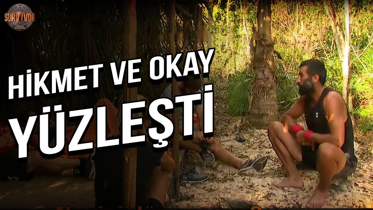 Hikmet ve Okay Yüzleşti | Survivor Türkiye - Yunanistan