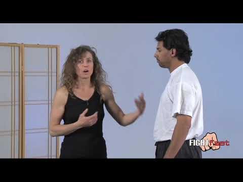 Kathy Long - Surprise Front Takedown For Self Defense