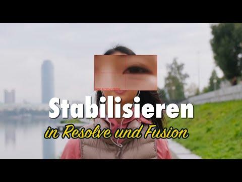 Clips Stabilisieren in Resolve und Fusion | DaVinci Resolve Tutorial