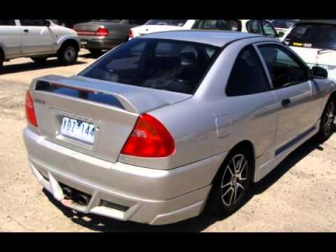 2003 mitsubishi lancer ce2 my025 gli silver 5 speed manual coupe youtube