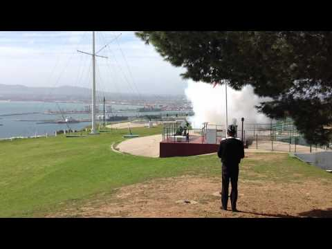 Cape Town - Signal Hill - Noon Day Gun