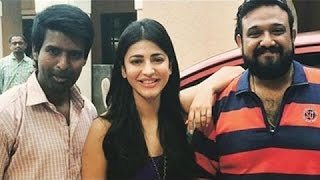 Shruti Hassan thanks Vedhalam cast and crew