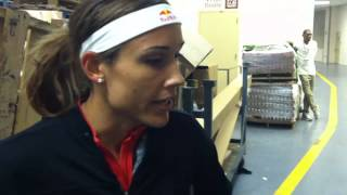 Olympic sprinter Lolo Jones chats with  and talks about Dating rappers and more with SpikeCheck