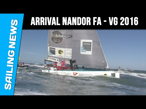 Finish arrival Spirit of Hungary - Vendée Globe 2016