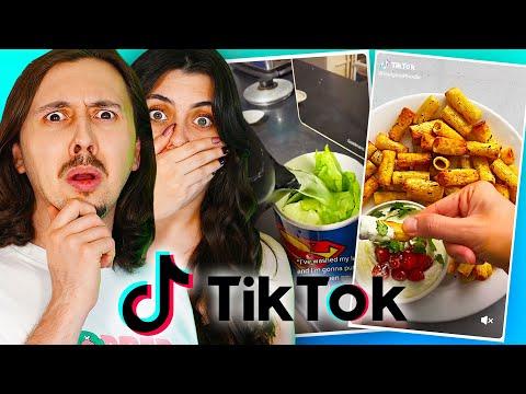 On teste des recettes Tik Tok bizarres en couple