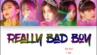 [1 시간 / 1 HOUR LOOP] Red Velvet 레드벨벳 'RBB (Really Bad Boy)' - Color Coded Lyrics