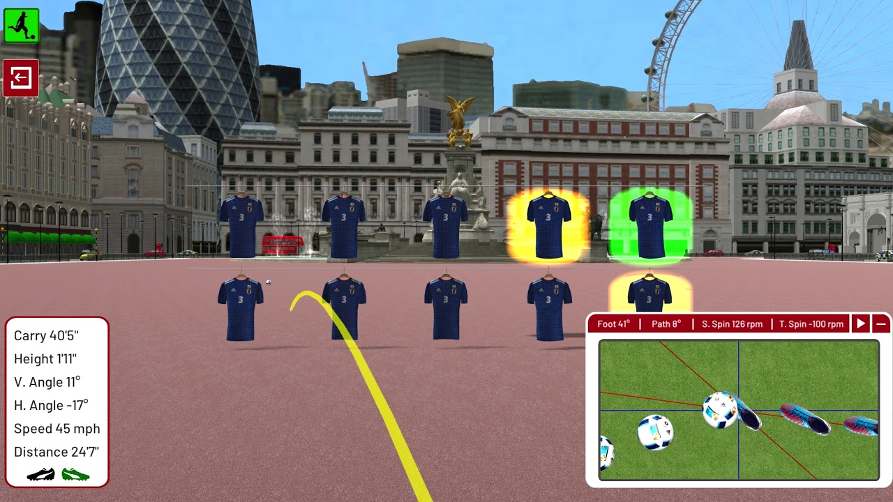 Football Environment - London - Shirt Challenge